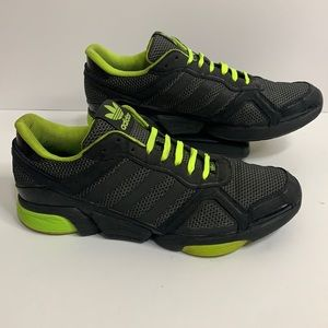 Adidas Mega Torsion 11.5 Neon Yellow Black Sneaker